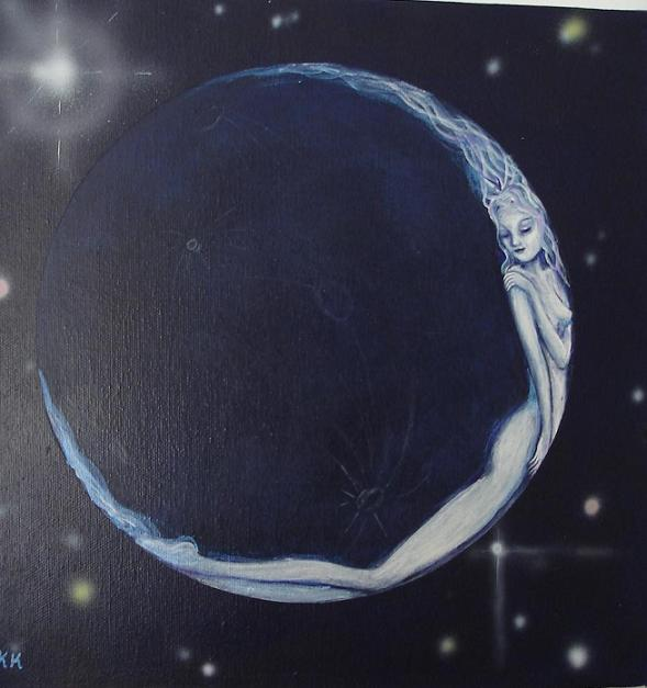 paintings of two moons - photo #26